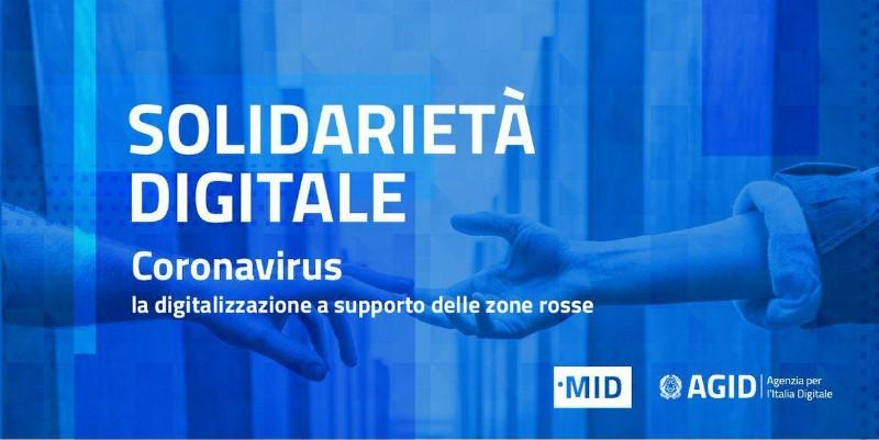 #SOLIDARIETADIGITALE