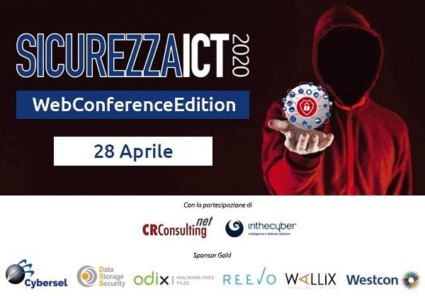 Cyber Security, Reevo scende in campo a Sicurezza ICT WebConferenceEdition